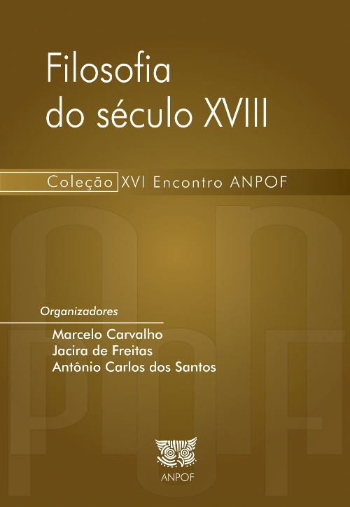 CAPA Filosofia do XVIII