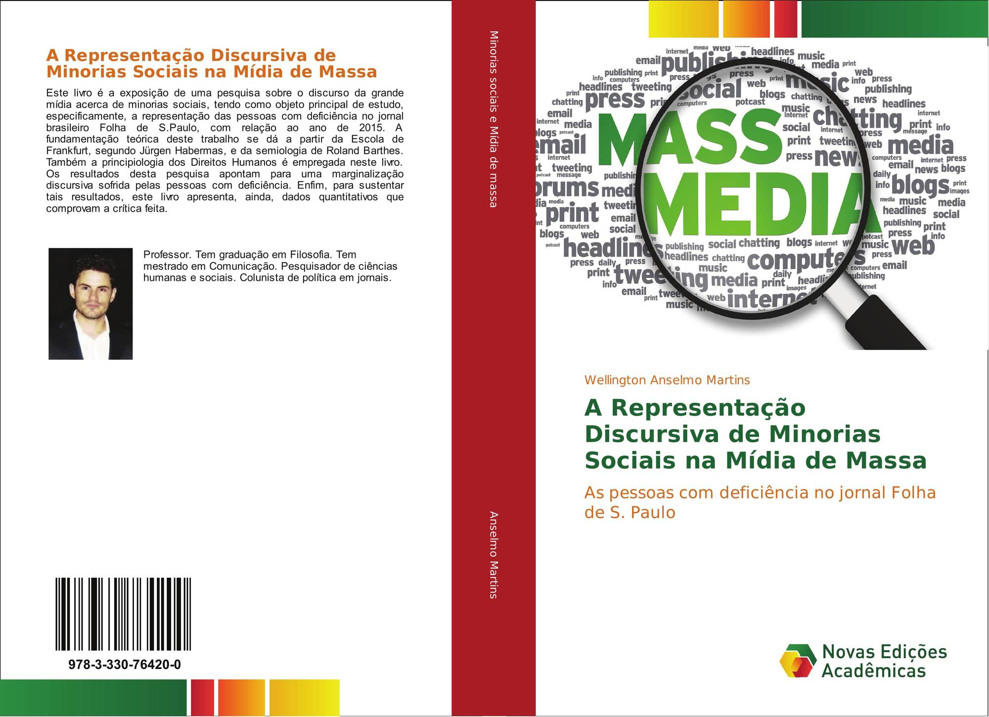 Capa Livro do Prof. Ms. Wellington A. Martins