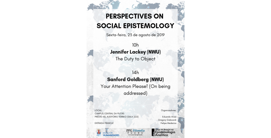 Perspectives on Social Epistemology